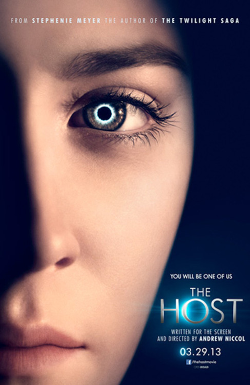 The Host gets a first poster The Host, the latest adaptation from Twilight author Stephanie Meyer, has released a first official poster featuring an eerie close-up of young star Saoirse Ronan…