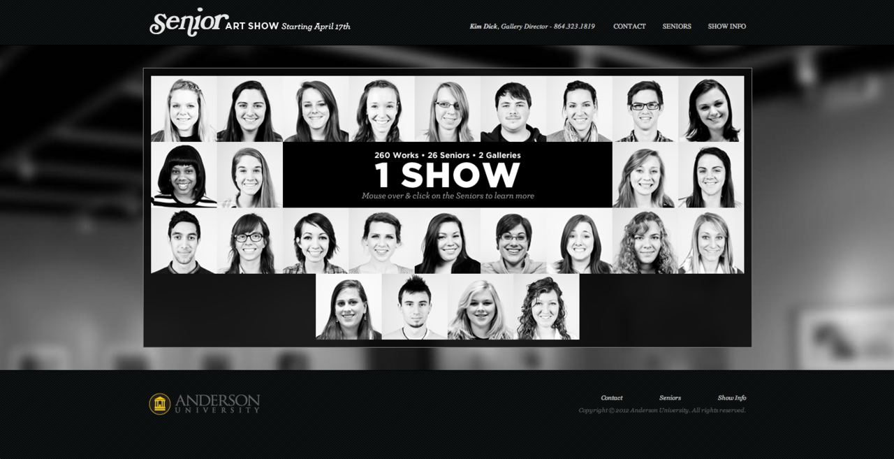 Click through to visit the official Senior Art Show website.