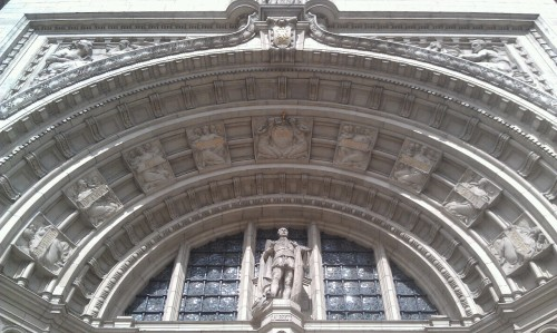 Inscribed over the entryway to the V & A: The excellence of every Art must consist of the completion of its purpose.