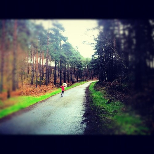 Bourne Woods with the Barnes (Taken with Instagram at Bourne Woods)