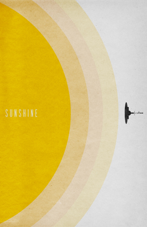fuckyeahmovieposters:  Sunshine by Travis English