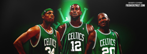 Celtics Big 3 Facebook Cover
