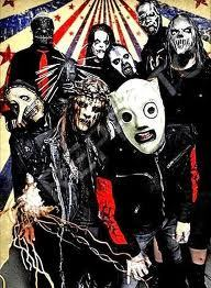 Slipknot is one of the bands that I like best, currently composed of Sid Wilson, Joey Jordison, Donnie Steele, Chris Fehn, James Root, Craig Jones, Shawn Crahan, Mick Thomson and Corey Taylor. The alignment of the band remained unchanged from 1999 until 2010. Each member wears a mask distinct.