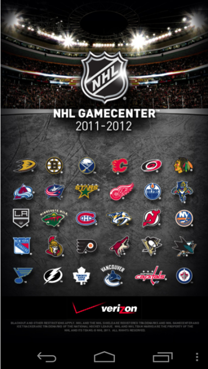Catch All the NHL® Playoffs Action on Your Verizon Wireless Smartphone or Tablet  The ice is smooth, the skates are sharpened and Verizon Wireless is here to keep fans connected and updated on their favorite playoffs teams with the Verizon NHL® GameCenter™ application. Verizon Wireless customers get exclusive content including live streaming of nationally broadcast games on NBC. Using Verizon Wireless' 4G LTE network, fans can stream the live game audio to listen to their favorite team whether they are stuck at the office or out for a run. To learn more click through.