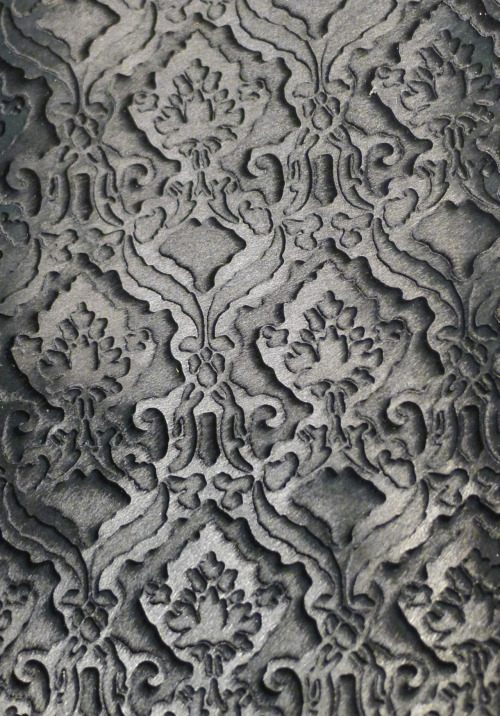 wgsn:  Laser cut ponyskin from Motta Alfredo at Lineapelle. This extreme layering of treatments was prevalent, resulting in a beautiful 3D effect leather in line with our 21st Century Romance macro trend