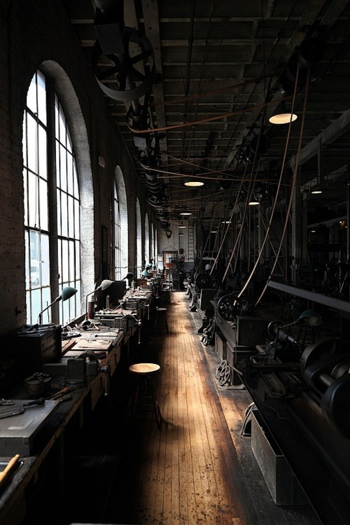 Old school factory