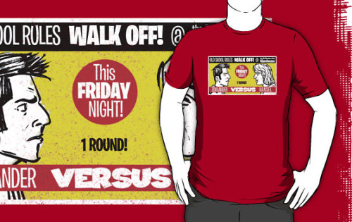 "gimetzco:  new for coloured shirts: ""Zoolander Vs Hansel WALKOFF!"" T-Shirts & Hoodies by Gimetzco 