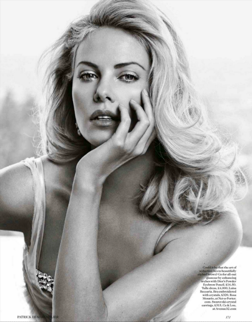 Charlize Theron for the May 2012 Issue of Vogue UK