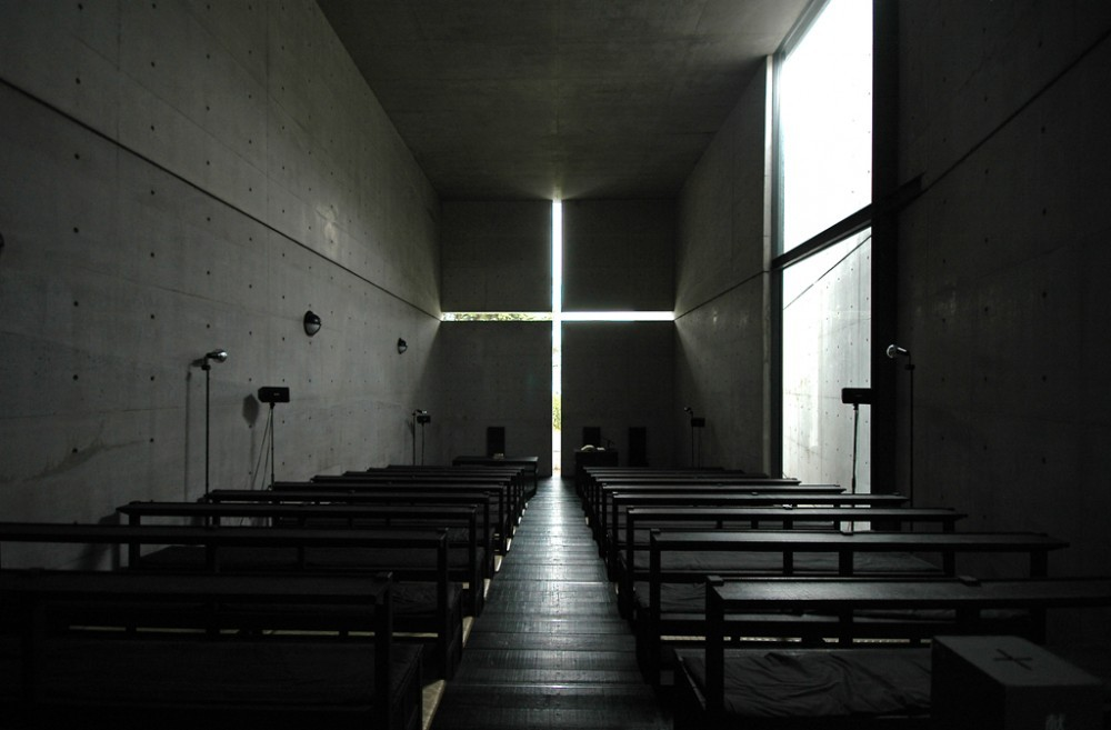 Church of Light - Tadao Ando (via archdaily)