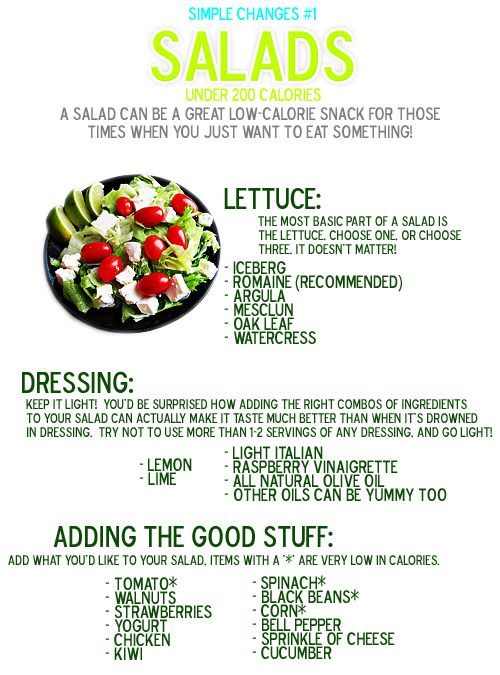 5ft3-newme:  Yum! Great list for basic salad building!