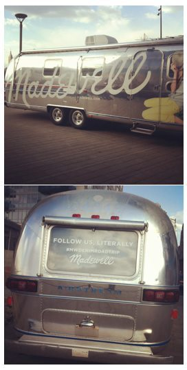 Follow Madewell, Literally #MWDenimTour! One of my clients, Madewell, is kicking off a 14-city Denim Road Trip today in Astor Place, New York City to show off their famous denim. The reason? Madewell wants to get their jeans into girls' hands, especially where they don't have stores - I'm looking at you, college towns! Check out their Road Trip Journal Facebook Hub for tour details, including: 1970's decked-out airstream Braid bar Golden Ticket Twitter giveaway at each stop ($100 Gift Cards for 10 lucky winners on tour and virtually on Twitter!) And make sure to check back often, as the hub will be updated constantly with pictures, video, playlists and more from the tour!