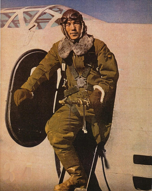 myrt402:  japanese pilot by dani1944 on Flickr.