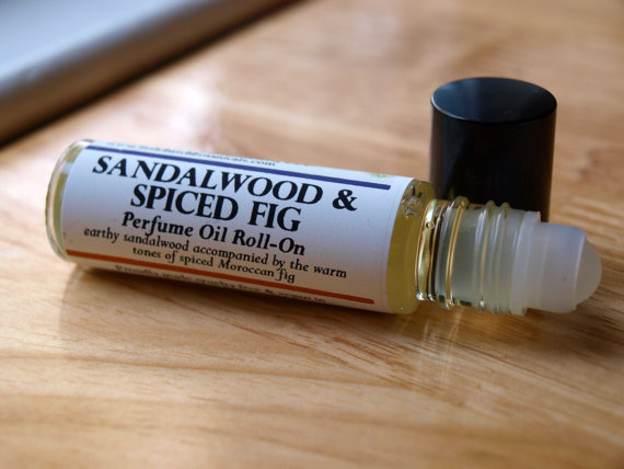 i'm into it.sandalwood and spiced fig perfume oil by little batch