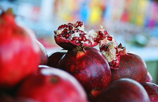 Pomegranates by chany14 on Flickr.