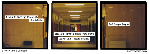 softerworld: A Softer World: 798 (And who can blame her?)