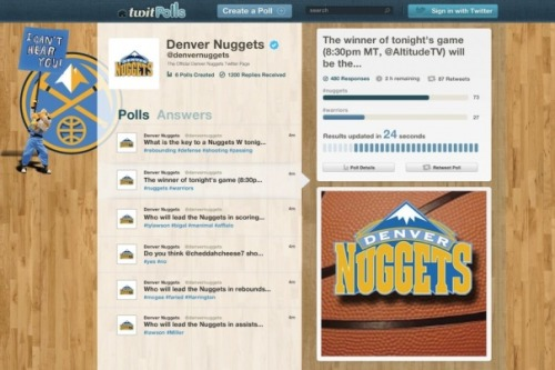 TwitPolls will let sports teams, brands, TV producers and ad agencies build Twitter polls and measure voting in real time, increasing interaction and building loyalty with fans. For the fans, polls look the same as any other tweet that comes from a brand's Twitter account — and responding to the poll with a certain hashtag will count as a vote. The platform uses Twitter's API to weed through the noise of certain hashtags to directly link responses to questions that are asked through TwitPolls system. The service is launching with a freemium model, initially letting anyone to create a poll on Twitter for free. But it's got some bells and whistles and extra features that it's willing to extend to enterprises — stuff like leader boards, additional games or customized charts and graphs — for a fee. For WayIn, that'll provide a path to monetization — particularly as McNealy can work his rolodex to get sports teams, TV programmers and other brands on board. Read more from GigaOm.