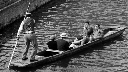 On the Box Punting on the River Cam in Cambridge. Taken April 2012 See you on the other side!  Facebook    Twitter    RedBubble   Flickr