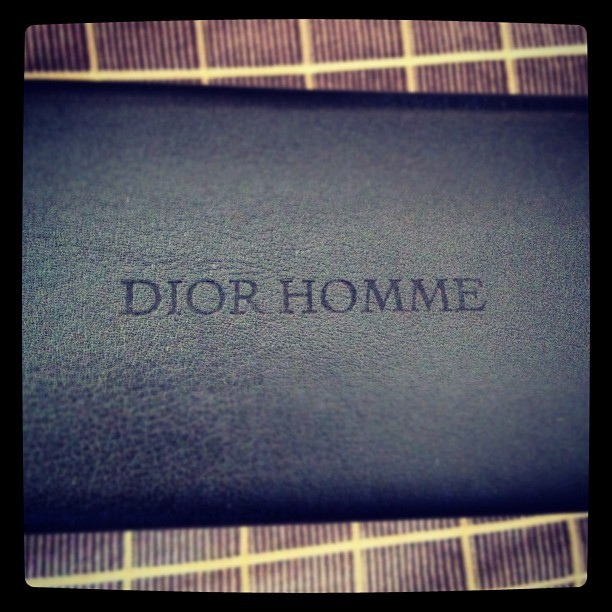 """That's #DiorHomme not #Dior Homie…"" - Kanye (Taken with instagram)"