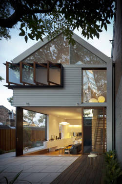 theblackworkshop:  Elliott Ripper House / Christopher Polly Architect