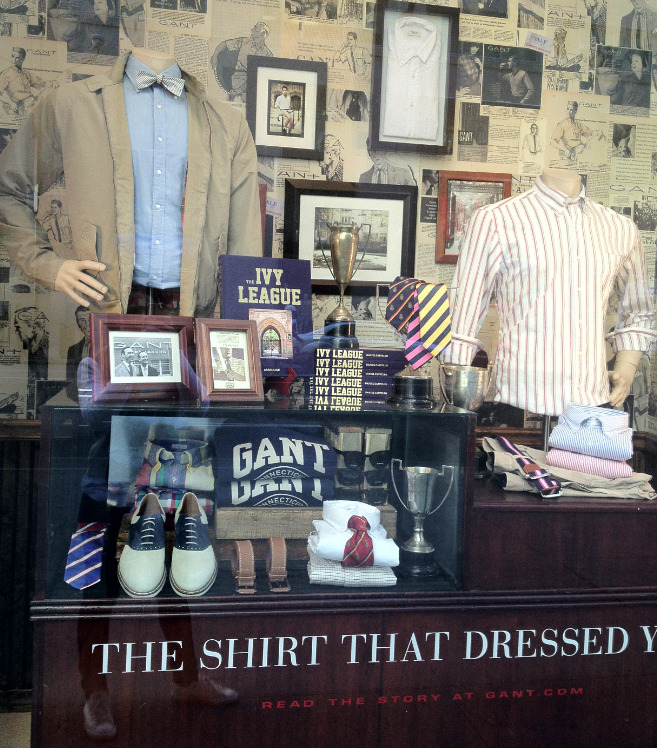GANT Fifth Avenue Windows featuring The Ivy League