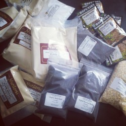 Twenty pounds of stuff for my next #homebrew just arrived. Going to be brewing a Brooklyn Chocolate Stout clone! (Taken with instagram)