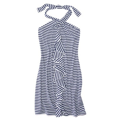 Mossimo Women's Stripe Halter Dress, $27.99 Still looking for that perfect dress that can double as a beach cover-up and a casual day dress? I love the details on this dress from Target, it would look great with accessories of any color!