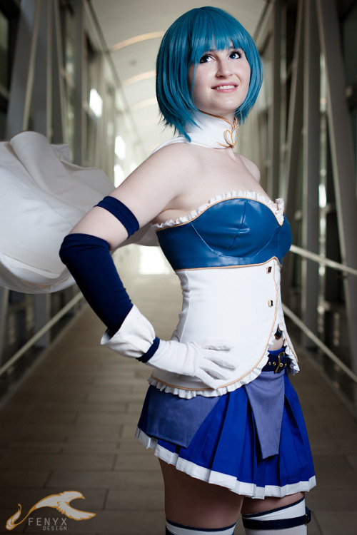 Sayaka Miki from Madoka Magica Cosplayed by Yashuntafun Photograph by Fenyx Design