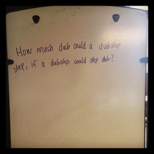 …it's a legit question. (Taken with instagram)