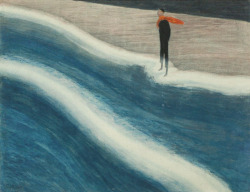 amare-habeo:  Léon Spilliaert - Young man with red scarf, 1908 (private collection) via dailyartwork