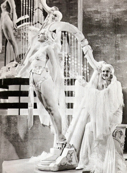 """Fashions of 1934"" scene created by Busby Berkeley"