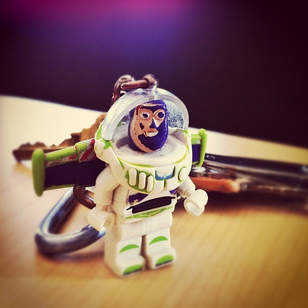 Buzz has seen better days. (Taken with instagram)