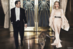 vogue:  Scarlett Johansson and Mark Ruffalo Photographed by Mario Testino for the May Issue of Vogue