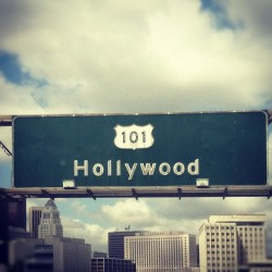 fallonelizabeth:  hello, hollywood (Taken with instagram)