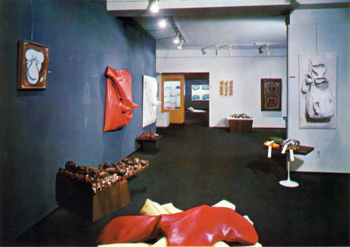 "Claes Oldenburg, ""The Home"", Installation, Sidney Janis Gallery, New York, New York, 1964"