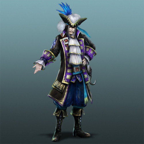 dynasty-warriors:  Dynasty Warriors 7 & Xtreme Legends - Guo Huai, fairytale costume set  Wow Pirate Guo Huai, how awesome