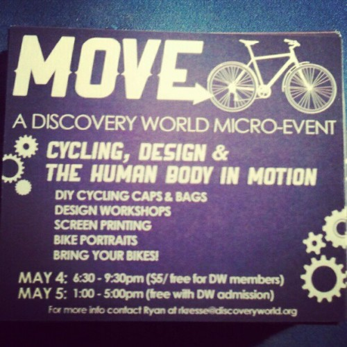 MOVE cycling event.