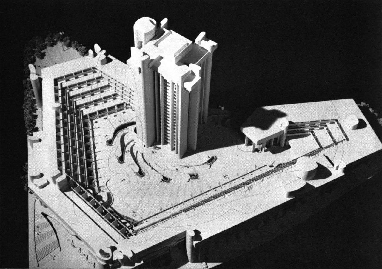 fuckyeahbrutalism:  Government Service Center, Boston, Massachusetts, 1962-71 (Paul Rudolph)
