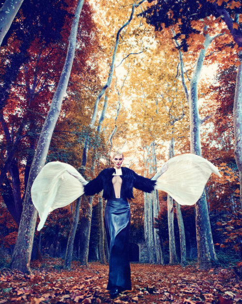 Marie Claire Turkey, December 2011 (+)  photographer: Koray Parlak  Nina Reijnders, Victoria Lipatova