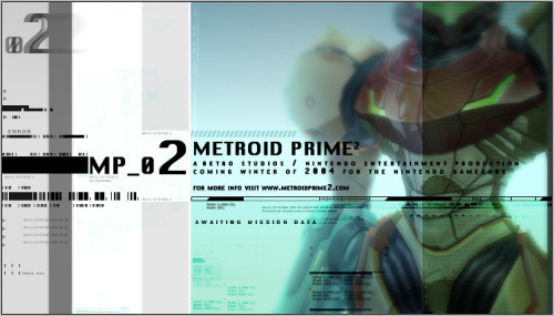Metroid Prime 2 concept art from RETRO Studios.