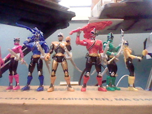 #008 - Mega Samurai Rangers Yessssss, I finally have them all.