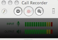 Just used this to record a Skype convo. Seems to work a treat and it cleverly saves it as a .mov file in a folder on my desktop and namesit according to the person I've been Skyping with. Pretty efficient, huh? And an excellent solution to the problem of interviewing - for audio - people who lives bloomin' miles away.