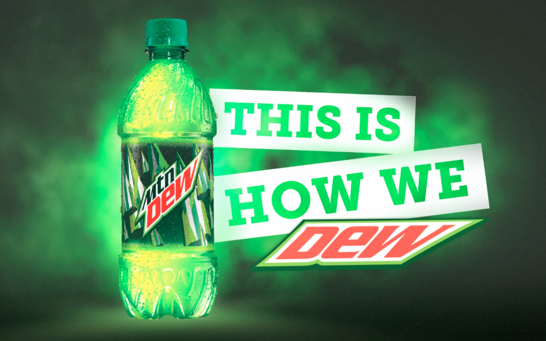 "The official #DEWeezy ""How I DEW"" Commercial  Mountain Dew's new TV spot featuring Lil Wayne, Mac Miller, Jason Aldean, Dale Earnhardt Jr., Paul Rodriguez Jr., Theotis Beasley and Danny Davis. Featuring music from Lil Wayne (""Right Above It""). This How We DEW! http://youtu.be/kOVn2dBjVEY"