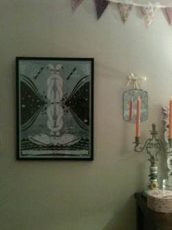 I framed my Circa Survive screen prints by Doe-Eyed Print & Design Studio2 of 2.