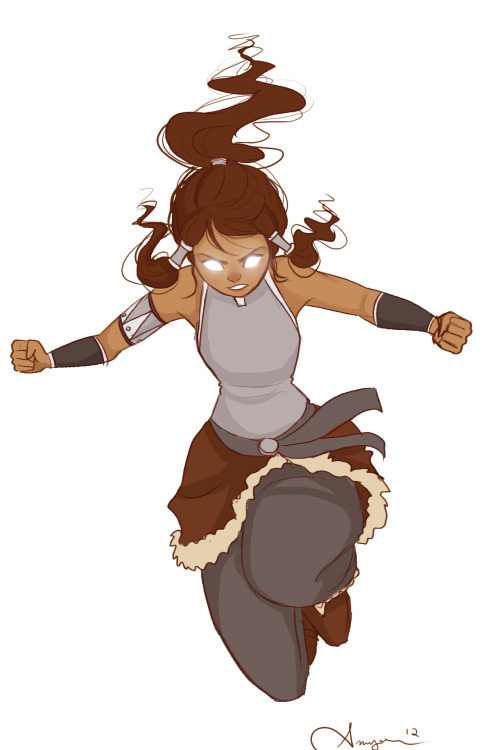 littlerunawaywolf:  Because when Korra goes into avatar state I'm gonna flip my shit.