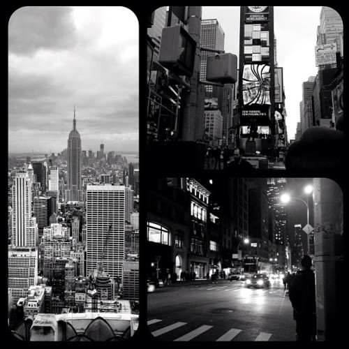 Thanks to @elliotnewton for showing me this app. #newyork #blackandwhite #city  (Taken with instagram)