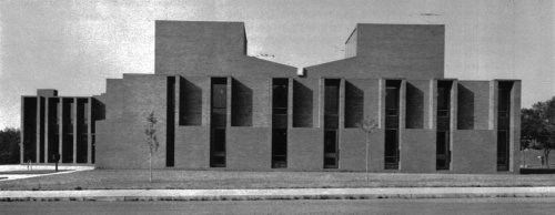 tumblinglibrary:  First Unitarian Church, Rochester, New York, 1959-62 arch: Louis Kahn