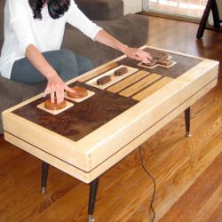 Bob and I are looking for a coffee table… I think this will suffice.