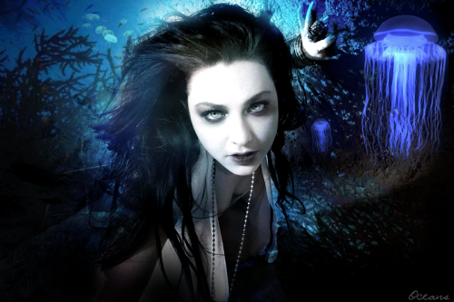 Evanescence Songs Project :) This is OCEANS. I like the result:) ORIGINAL STOCK