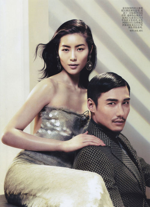 """À La Recherche Du Temps Perdu"" (+) Vogue China, May 2012 photographer: Sharif Hamza Liu Wen // alicefine:coco-vaughn"