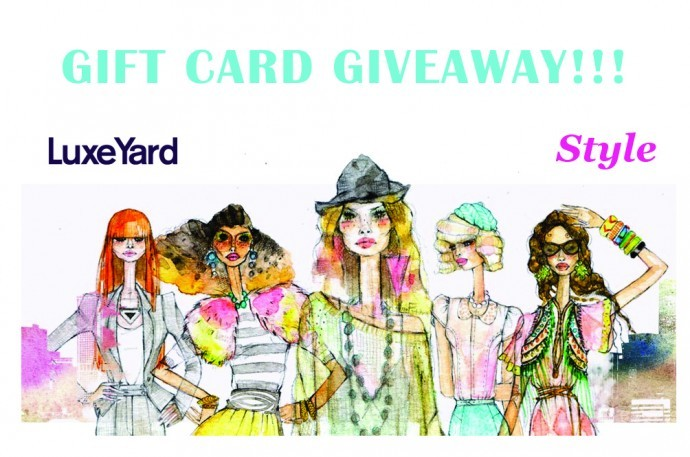 Only 24 Hours Left! Enter Now To Win A $100 Gift Card From LuxeYard: bit.ly/HnXQj3